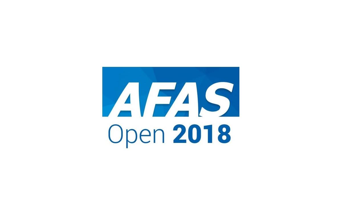 AFAS partner Gjald bij de AFAS Open
