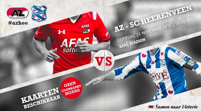 AZ-SC Heerenveen, top avond!