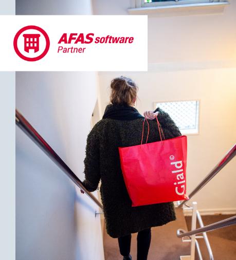 Gjald is partner van AFAS